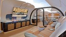 Une cabine de jet signée Pagani