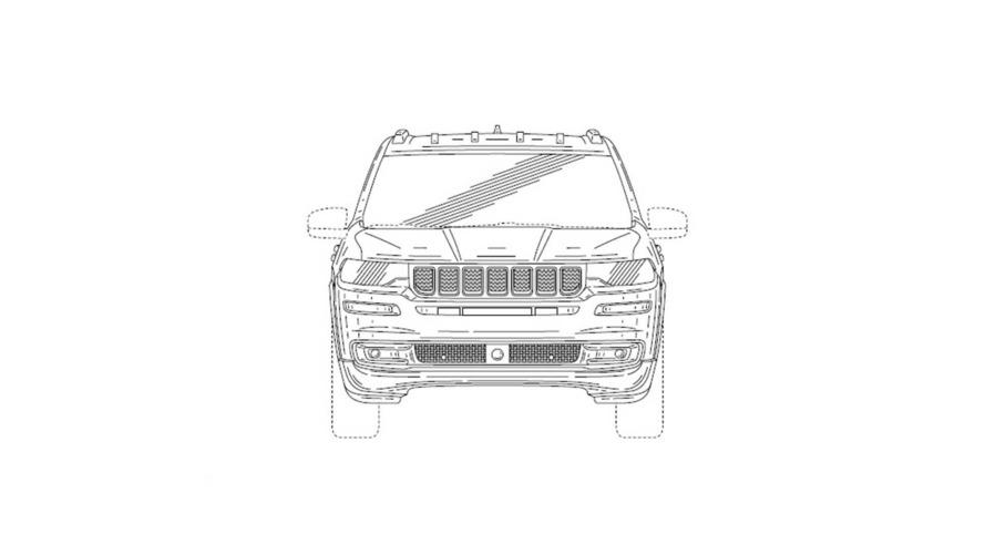 Ilustrations brevet Jeep : nouveau SUV 7 places