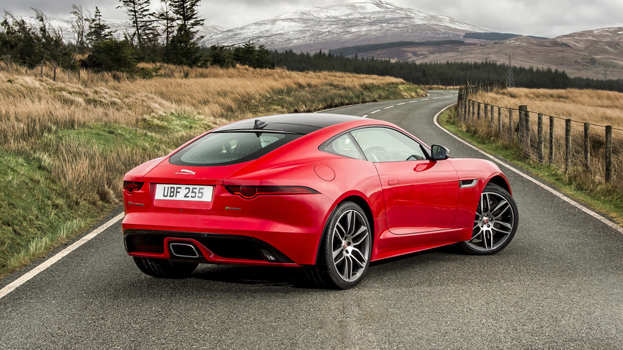 Jaguar F-Type Spotted With P380 Badge, New JLR Naming Convention