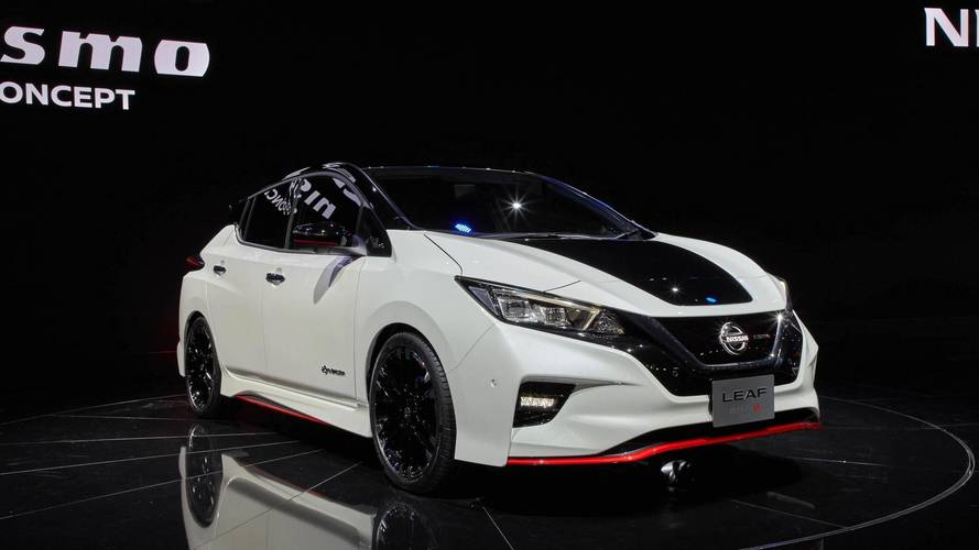 Aggressive Nissan Leaf Nismo concept revealed in Japan