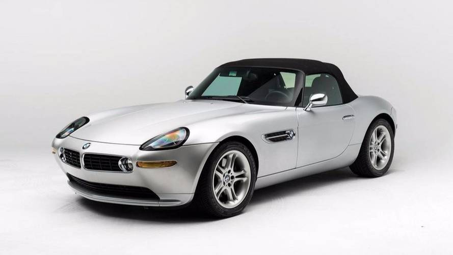 17-year-old BMW Z8 that belonged to Steve Jobs is up for auction