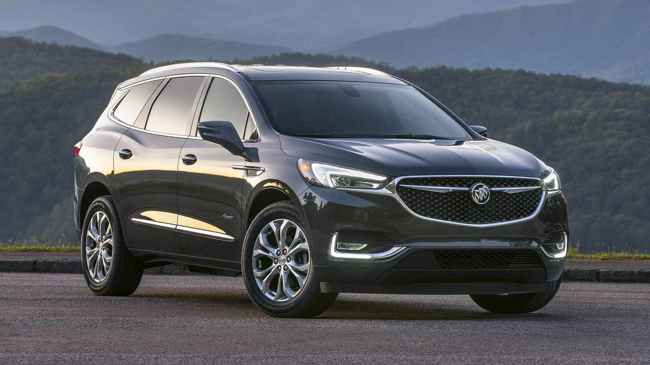2018 buick enclave first drive the future is avenir. Black Bedroom Furniture Sets. Home Design Ideas