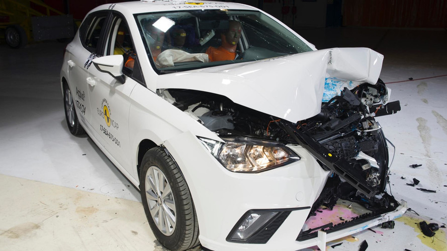 2017 Seat Ibiza Euro NCAP çarpışma testi