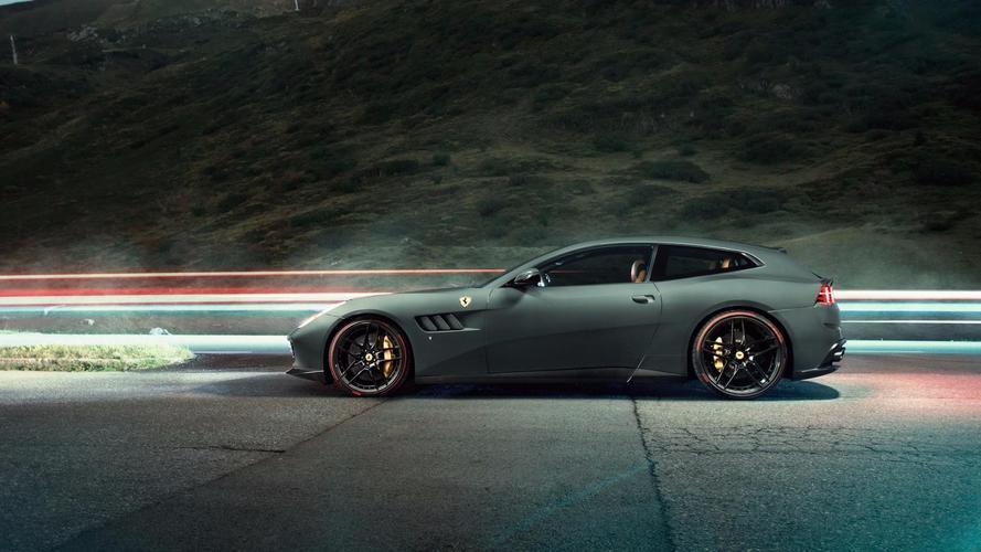 Ferrari GTC4Lusso T par Novitec