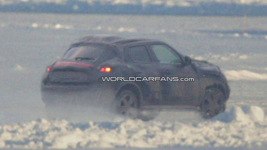 2011 Nissan Qazana Spied On Swedish Frozen Lake