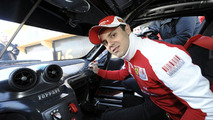 Felipe Massa driving Ferrari 599XX, Valencia, Spain, 31.01.2010