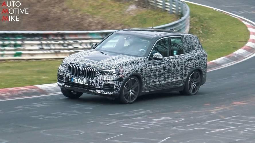 VIDÉO - La nouvelle BMW X5 surprise sur le circuit du Nürburgring