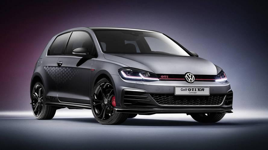 Volkswagen Golf GTI TCR Concept, récord de velocidad máxima