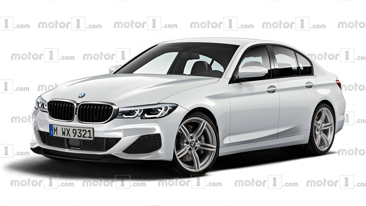 Nuova BMW Serie 3, il rendering