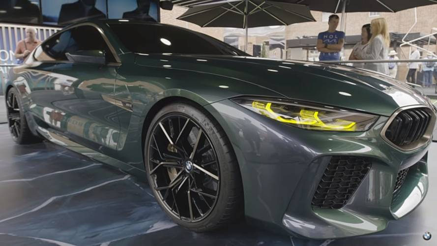 BMW Gives Us A Closer Look At The Stunning M8 Gran Coupe Concept