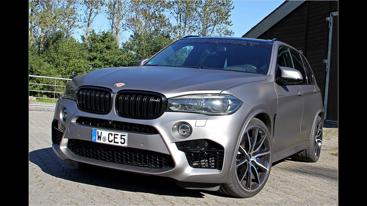 Großkalibrig: Manhart BMW X5
