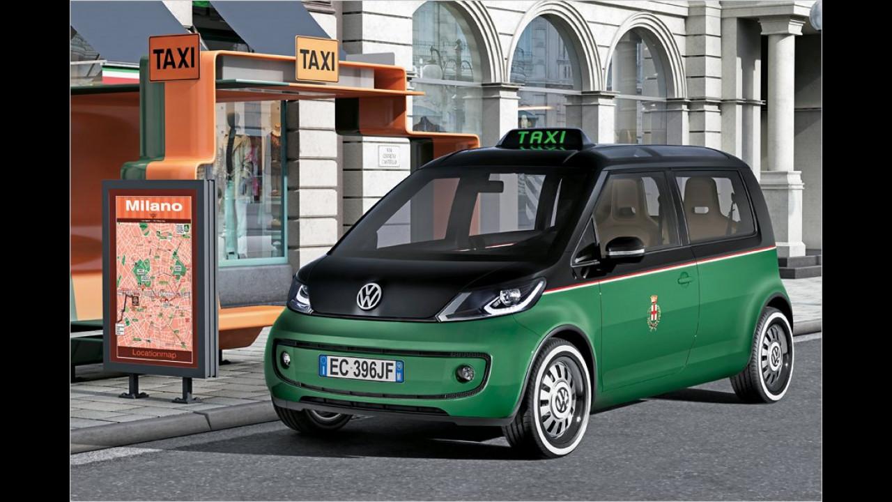VW Milano Taxi (2010)