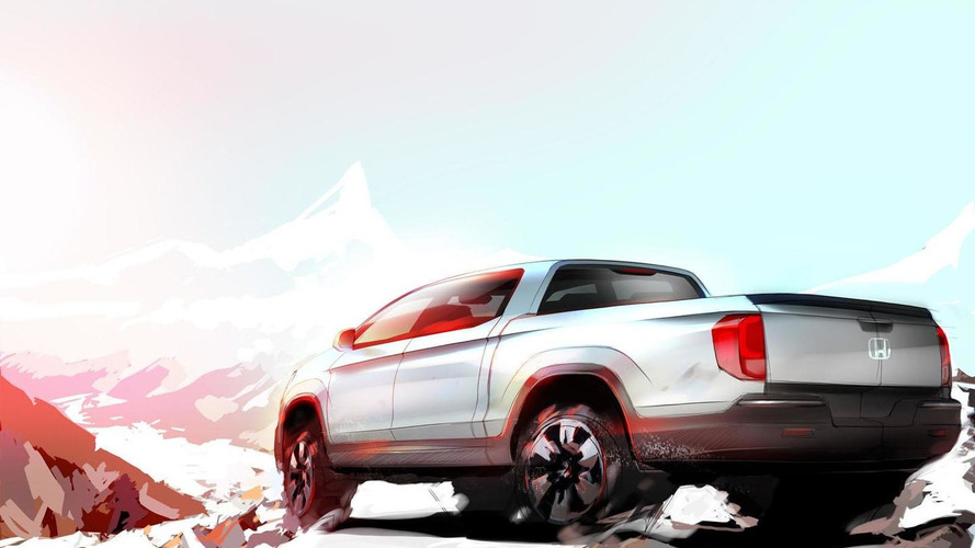 2017 Honda Ridgeline teased in Chicago