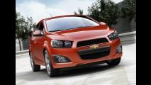 Chevrolet Sonic consegue nota máxima em crash test nos EUA