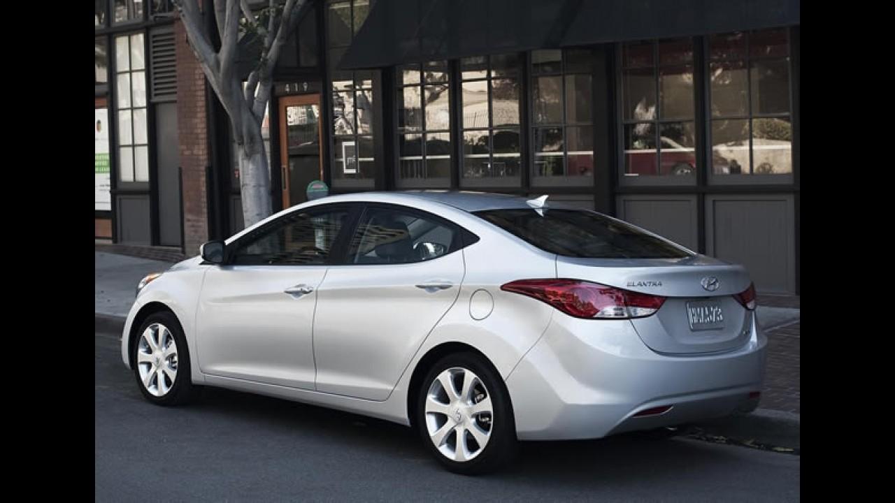 Novo Hyundai Elantra chega ao Brasil em junho