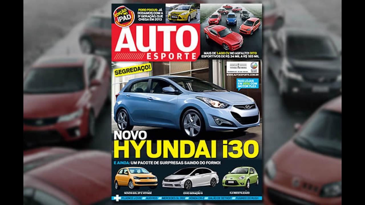 Novo Hyundai i30 2012 - Revista mostra como será a nova geração do hatch coreano