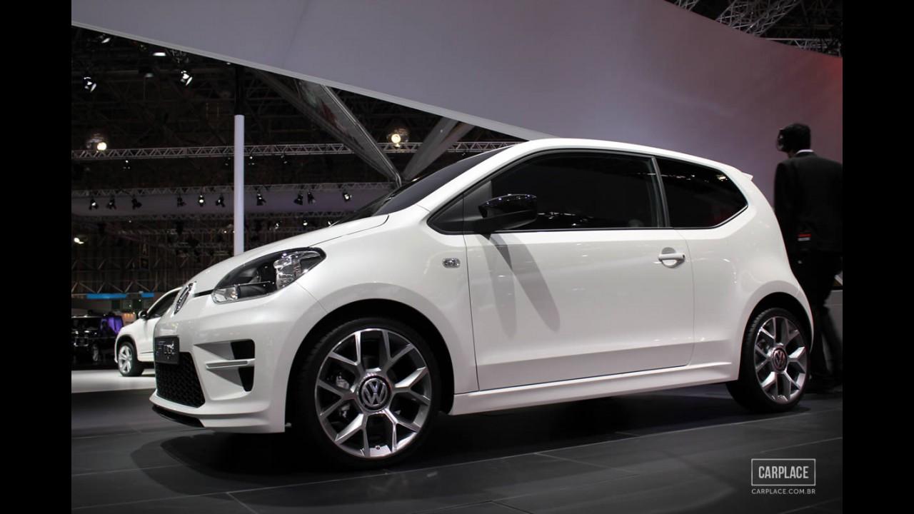 Salão do Automóvel: VW faz pré-estreia do Up! com versão GT conceitual - Modelo nacional terá algumas mudanças no projeto