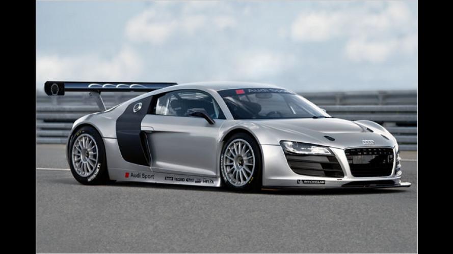 Audi R8 für GT3-Kundensport: Rennversion mit Heckantrieb
