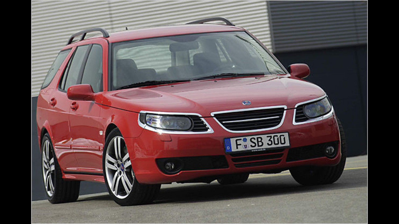 Saab 9-5 SportCombi 2.3 Turbo Performance by Hirsch