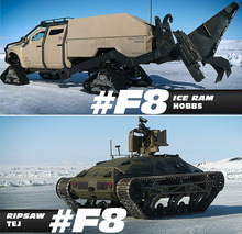 These are the New Fast and Furious 'Ice Cars'