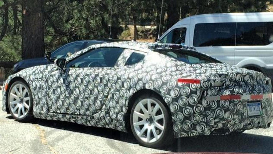Possible Lexus LF-LC prototype spied