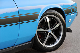 Bold Meets New: Shelby GT500CS Convertible by Retrobuilt