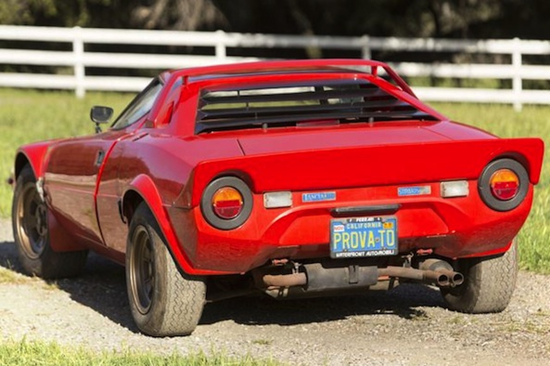 Barn Find Lancia Stratos Headed for Auction