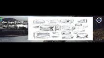 Volvo electric shooting brake render