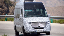 Mercedes-Benz Sprinter Photos espion