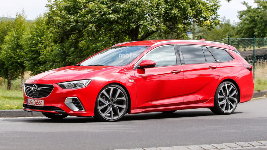 Opel Insignia GSi Wagon Spied Without Any Camo