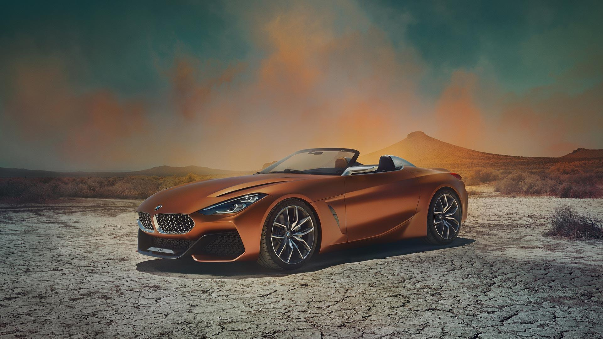 Bmw Z4 Concept Debuts Suggests Sublime Shape For Future