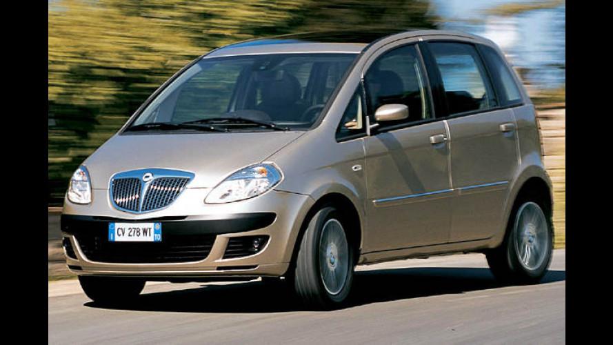 Kleiner Italiener: Lancia Musa mit neuer Basis