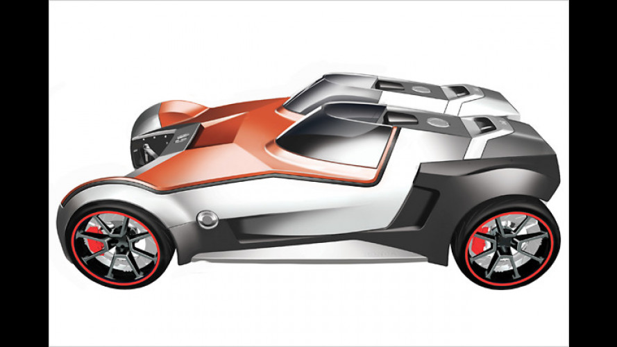 Honda Extreme: Das Maßauto für jedermann aus Karbon
