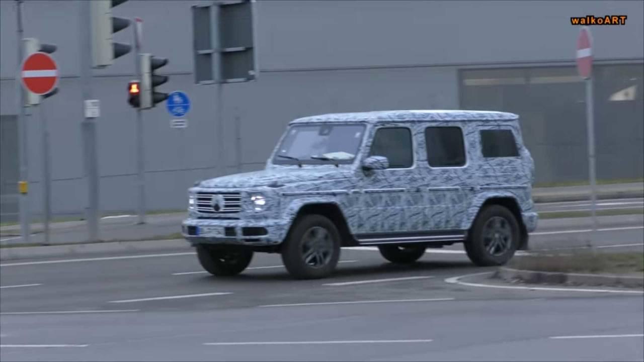 2018 Mercedes-Benz G-Serisi casus fotoğraf