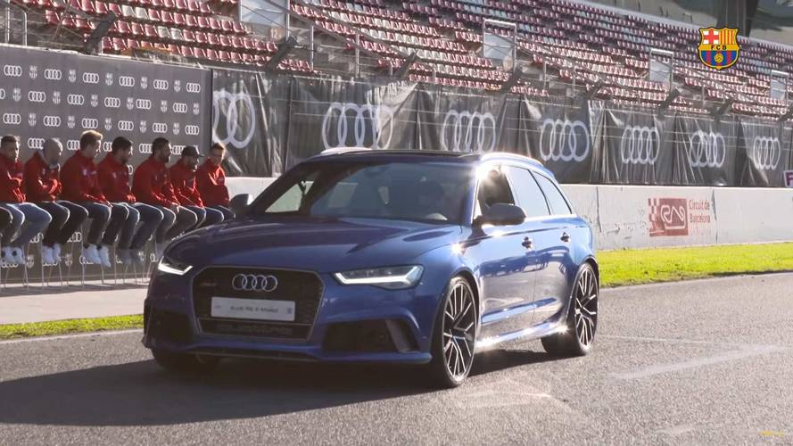 Barcelona Players Join Real Madrid In Getting New Audis To Drive