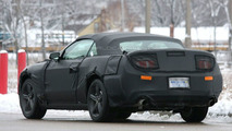 2010 Ford Mustang spied