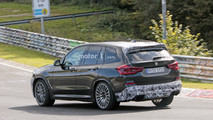 2019 BMW X3 spy photo