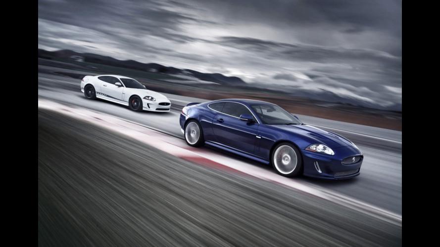 Jaguar XKR: Black Pack, Speed Pack e Special Edition
