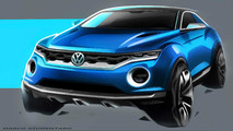 VW T-ROC Concept 2014 Design Sketches