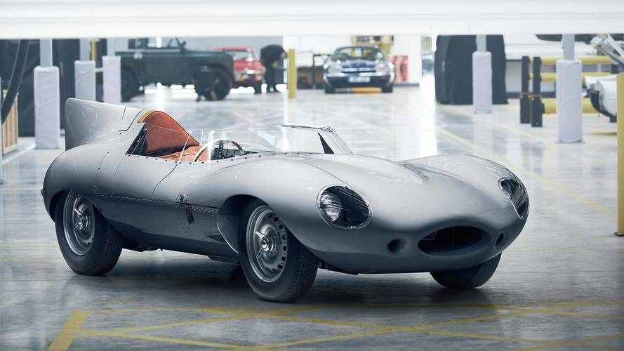 Jaguar Revives A Legend By Putting D-Type Back Into Production