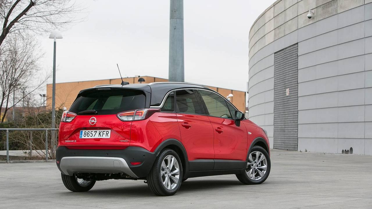 Prueba Opel Crossland X Ultimate 1.2T