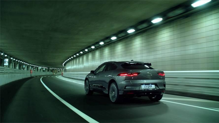 Jaguar I-Pace EV Does Sneaky Night Lap Of Monaco Circuit