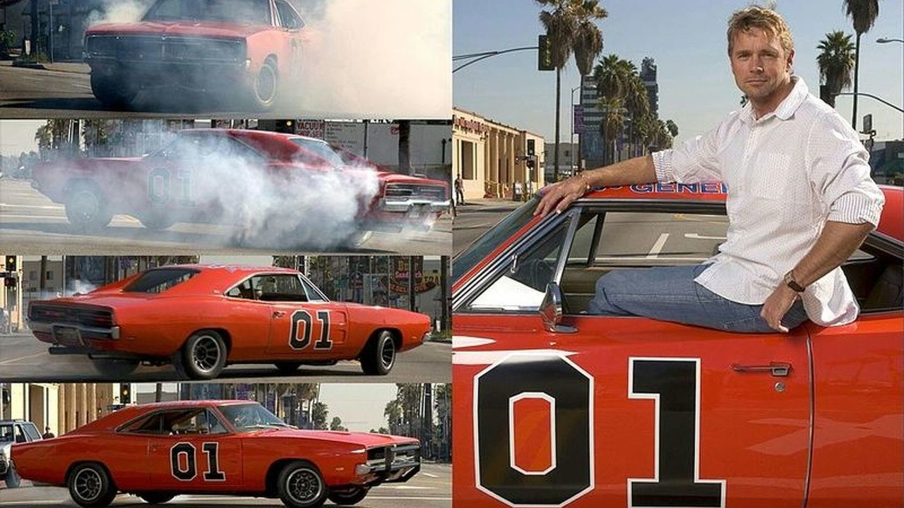 John and his General Lee Charger in action