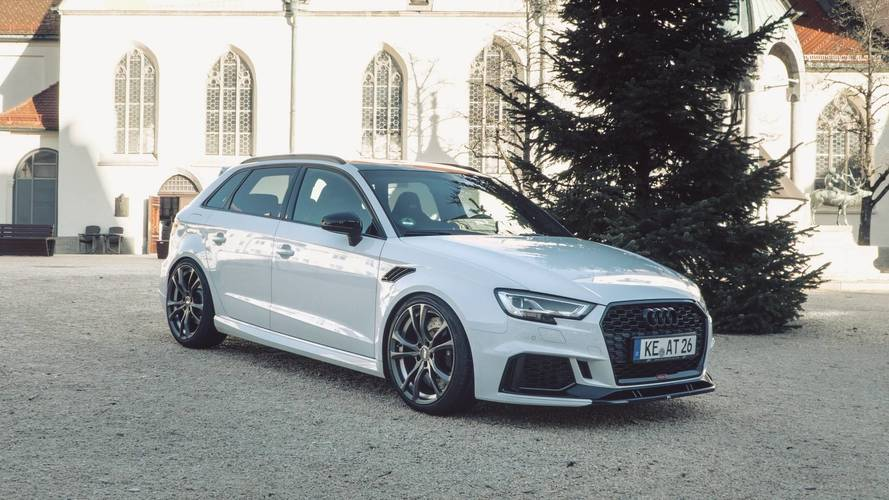 Audi RS3 Sportback By ABT Has An Enormous Amount Of Power: 500 HP