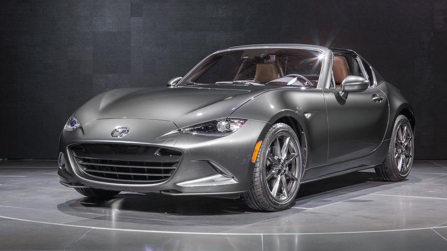 2017 Mazda MX-5 Miata RF'nin limitli üretim Launch Edition versiyonu olacak