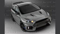 2017 Ford Focus RS500 render