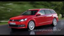 Projeção: Novo Passat Variant pode chegar em 2012 com visual inspirado pelo Novo Polo
