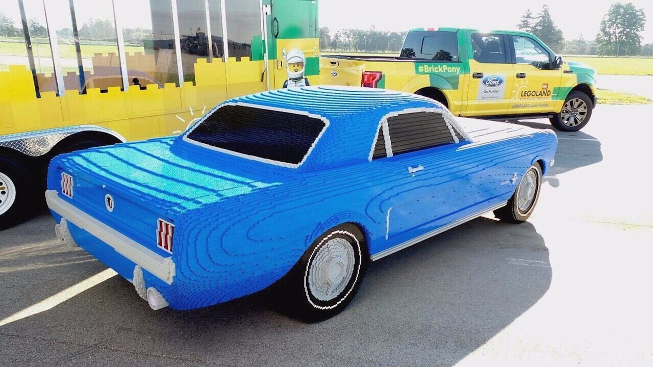 Ford Mustang 1964 Lego