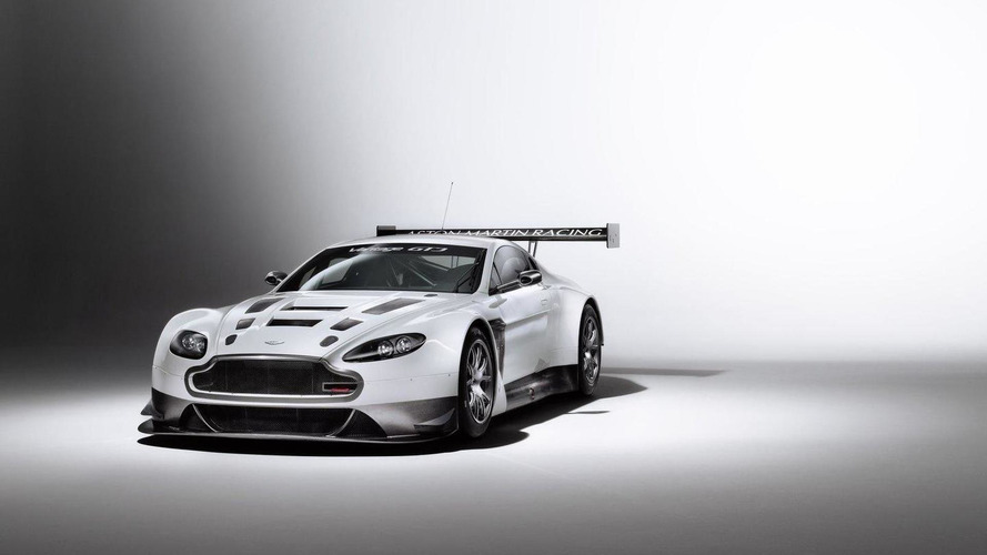 Aston Martin starts testing the V12 Vantage GT3