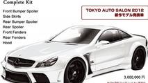 Veilside Black Fortune for Mercedes-Benz SL-Class, 785, 13.01.2012